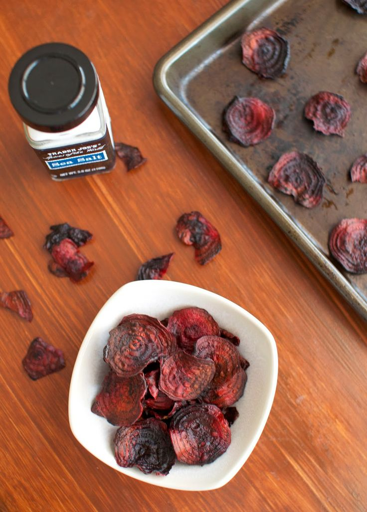 love lola: baked beet chips | Eat this with friends. | Pinterest