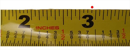 How To Read A Measuring Tape