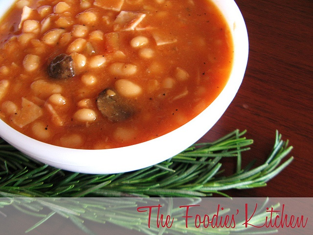 White Bean Stew with Tomatoes and Rosemary by The Foodies' Kitchen ...