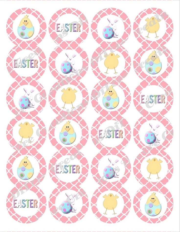Easter cupcake holders