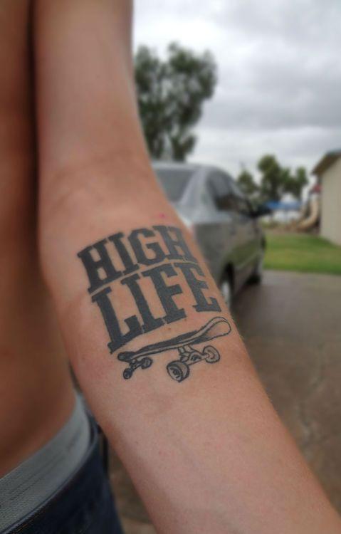 high tattoos