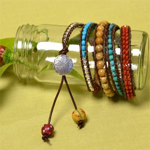 Red Hot Chili Peppers 4-Wrap Bracelet