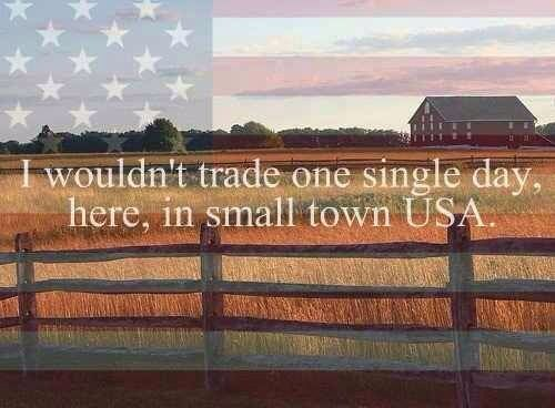 small town usa quotes quotesgram