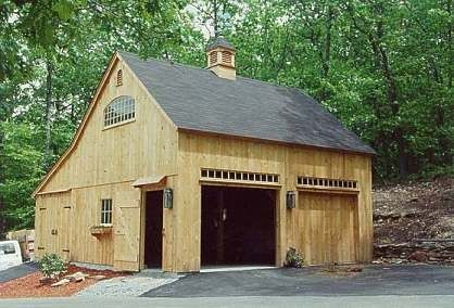 Barn garages garage pole barn garage pinterest Garage barn