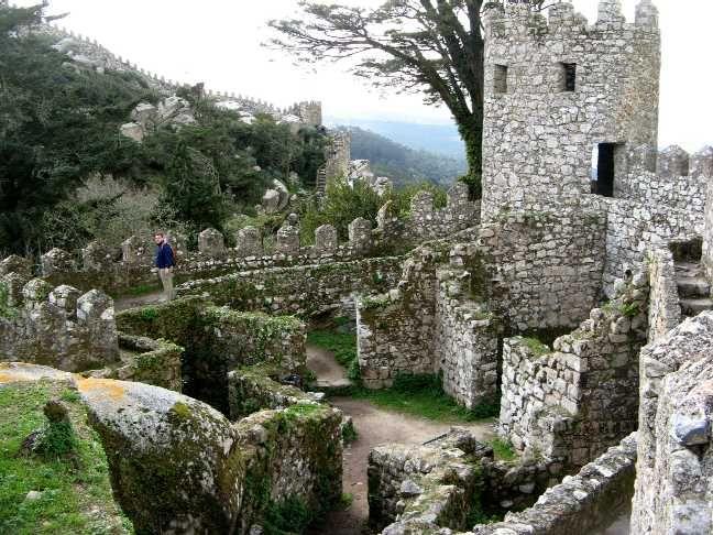 Moorish Castle, Sintra Portugal   Places I'd Like to Go   Pinterest