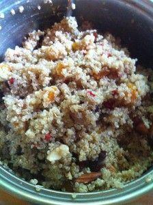 quinoa apricot date and nut porridge | Breakfast Yummyness | Pinterest