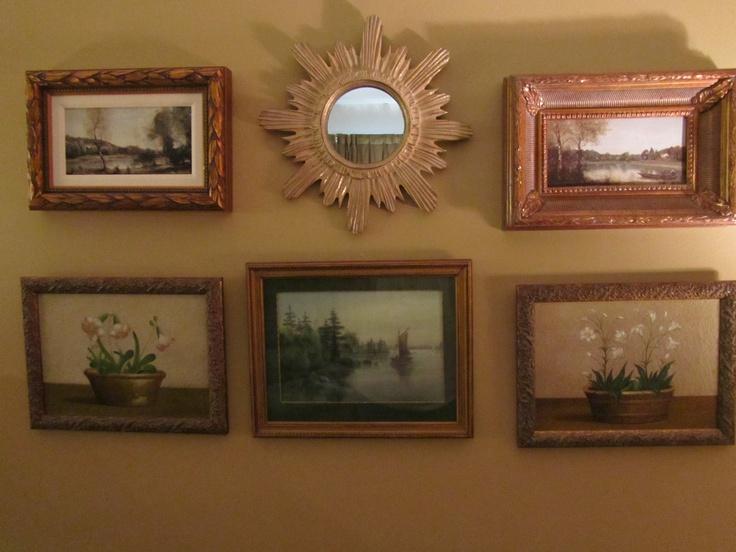Wall arrangement design ideas pinterest for Picture arrangements for large walls