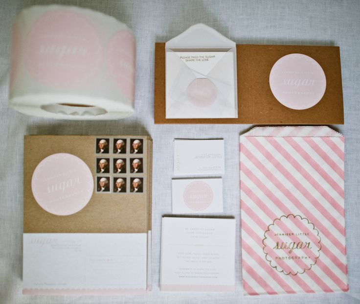 Sugar Photography branding