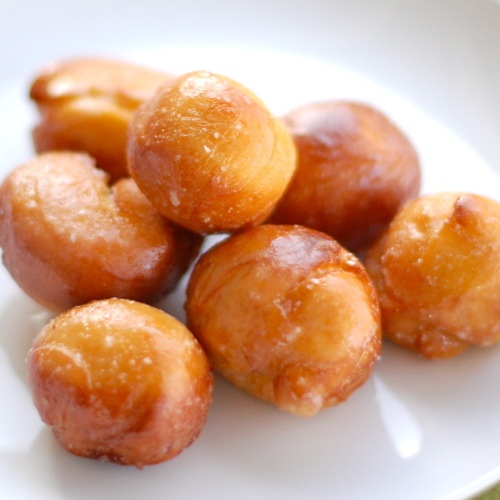 Sweet Potato Doughnuts like these at my Epcot dessert party after my ...