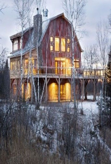 House designed like a barn for Barn like homes