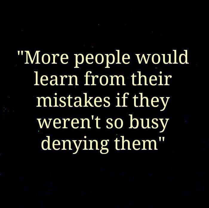 Others - Learn from your mistake  #Learn, #Mistake