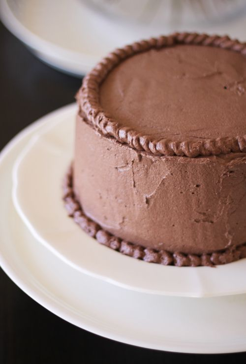 Double-Layer Chocolate Cake | Cakes | Pinterest