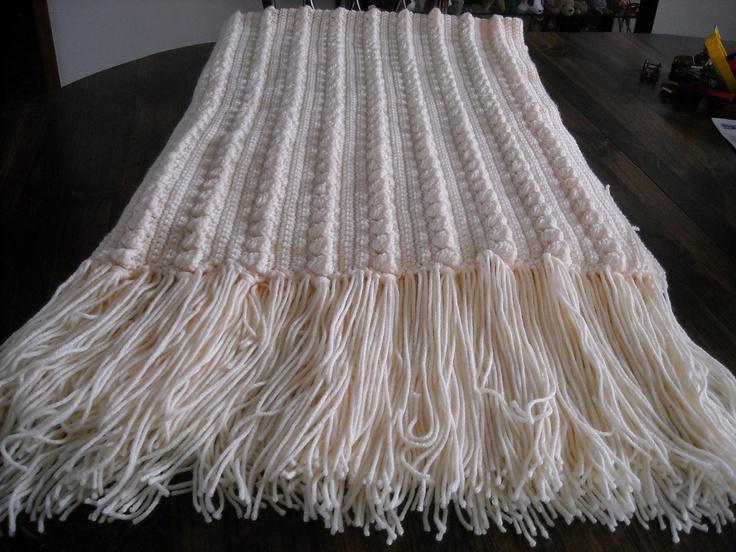 Crochet Fisherman Afghan Pattern