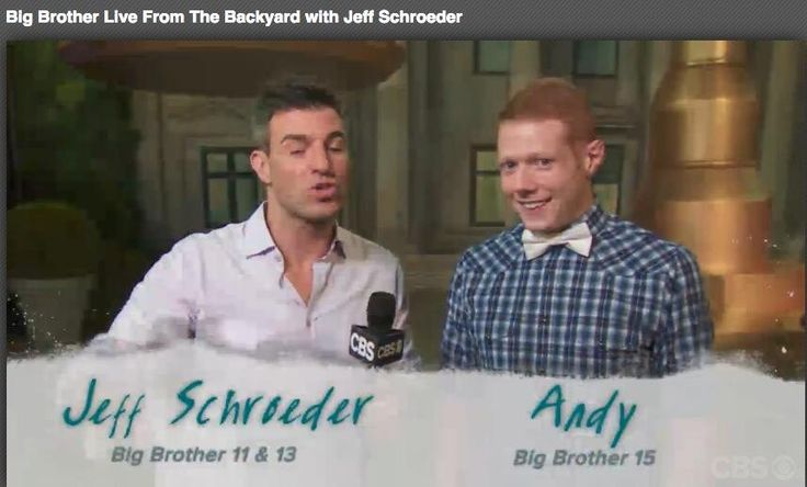 Winner of #bb15 Andy | Big Brother Show | Pinterest