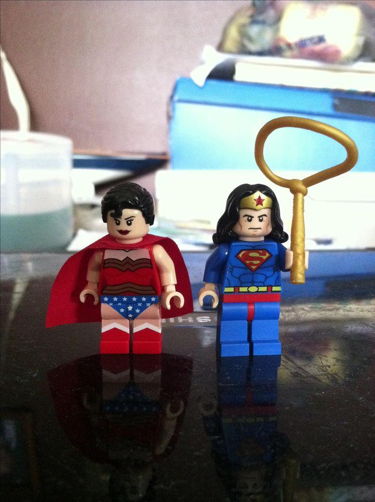 kids wonder women costumeWonder Woman Lego Costume