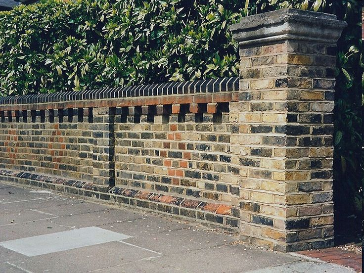 Walls and fences for Victorian garden walls designs