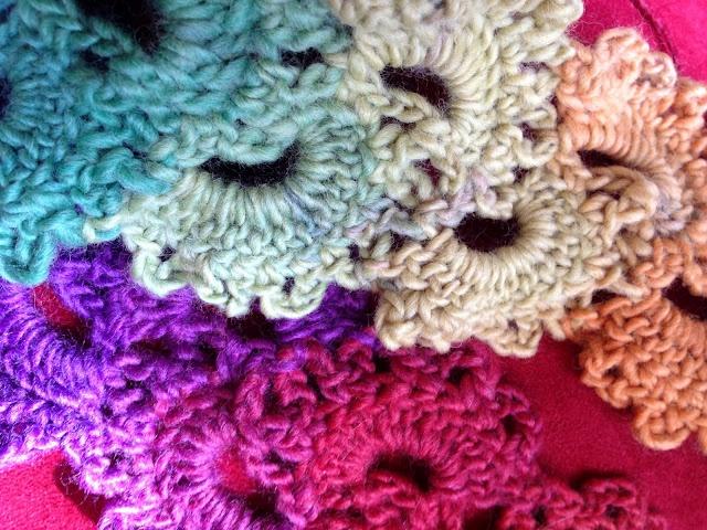 Crochet Queen : Queen Annes Lace Scarf Crocheted crochet Pinterest