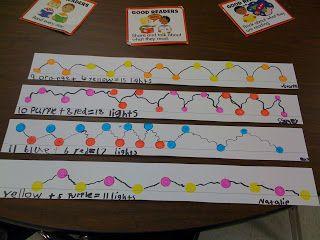 Christmas Lights Math Fact Families? | Teaching: Math | Pinterest
