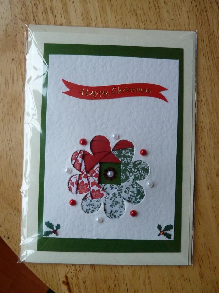 Handmade christmas card pinterest all ideas about for Handmade christmas cards pinterest