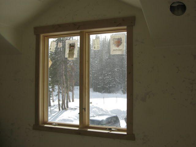 Interior window trim property design ideas pinterest for Door trim designs interior