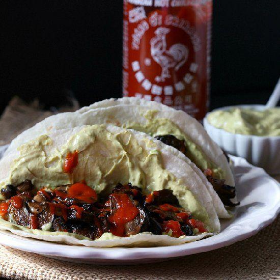 Mexican Mushroom And Spinach Sandwich (Vegan Torta) Recipe ...