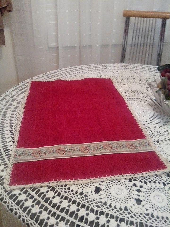 toalha de banho com bico em crochet   para casa   Pinterest