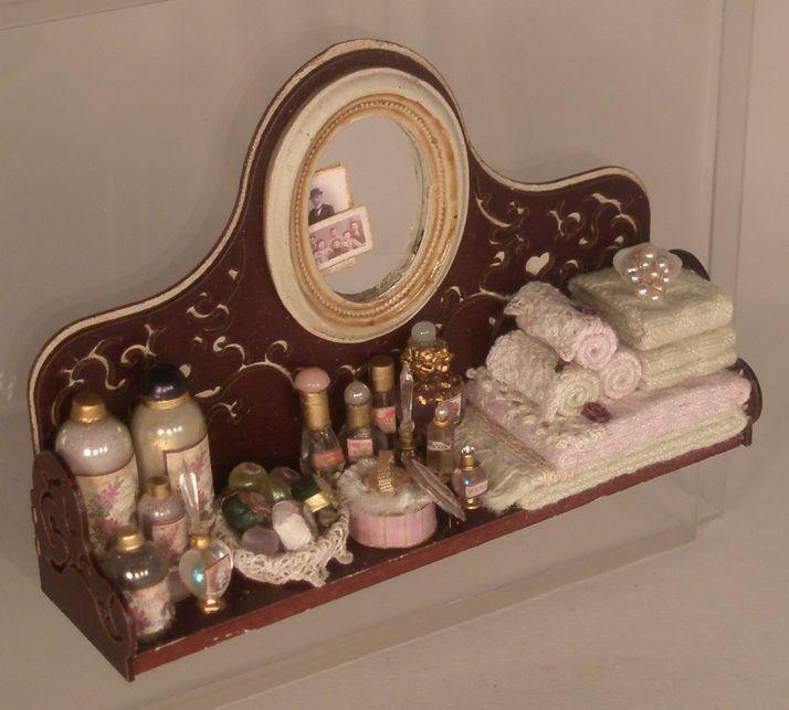 salon wall shelves : Spa Wall Shelf by Lori Ann Potts Barbie/Fashion Doll Accessories ...