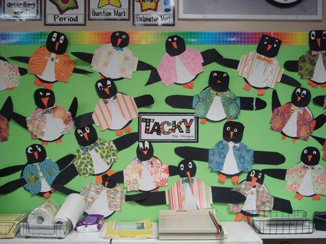 Tacky the Penguin - pair with Tacky stories on bulletin board