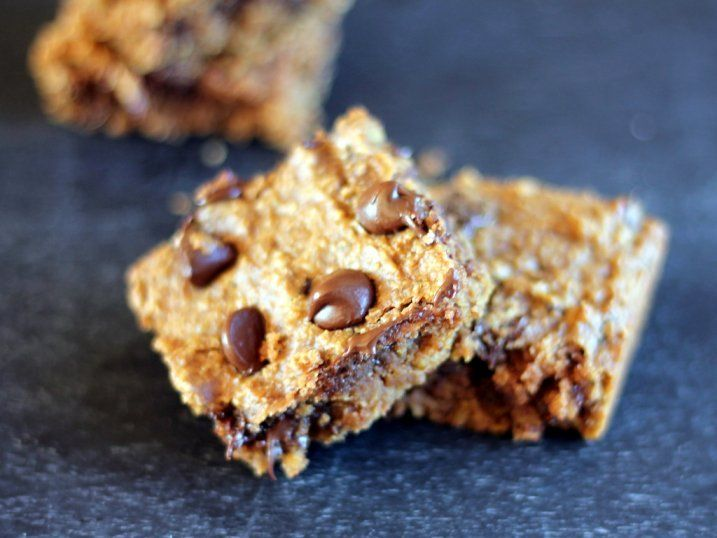 won't believe these incredible fudgy peanut butter chocolate chip bars ...