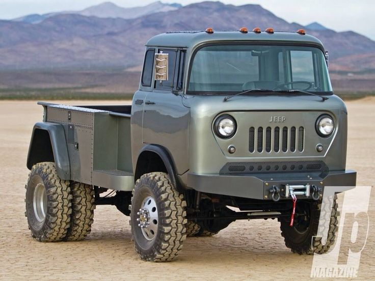 Jeep Cab Over Go Anywhere Pinterest