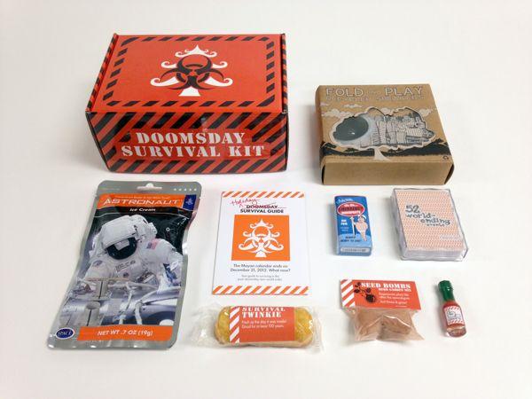 Doomsday Survival Kit by Stephen Hollingsworth, via Behance