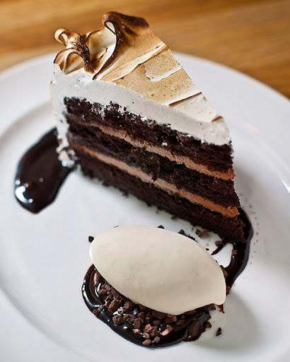 Devil's Food Cake with Black Pepper Boiled Icing Recipe on Yummly