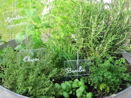 Mes herbes aromatiques  Un jardin, même tout petit, c'est la porte ...