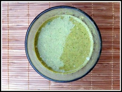 Little b's healthy habits: Mint Chocolate Chip Protein Shake