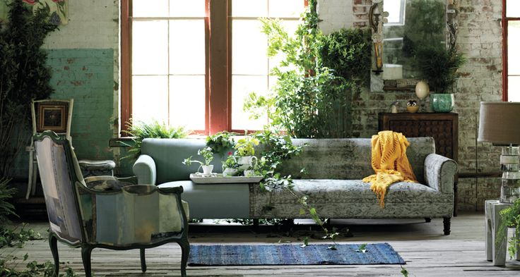 Anthropologie living room home design for Anthropologie living room ideas