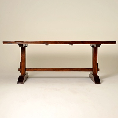 Sequoia Mango Trestle Dining Table Furniture Pinterest