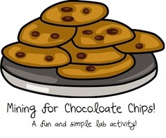 Mine for chocolate chips! A fun and simple lab activity! Freebie!