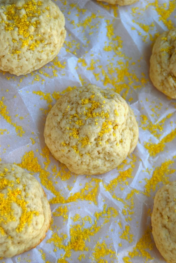 New to the Table: Lemon Vanilla Drop Cookies