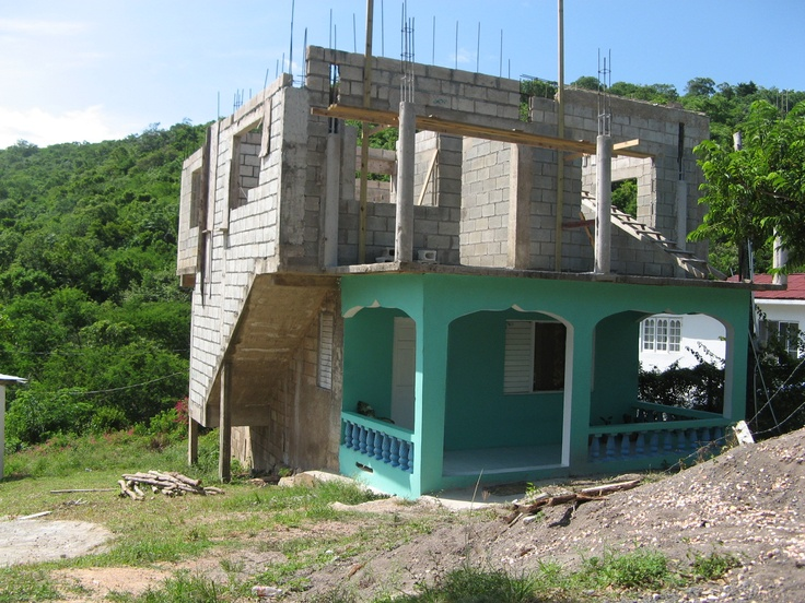 Pin by brian goulet on jamaica pinterest for Building a house in jamaica