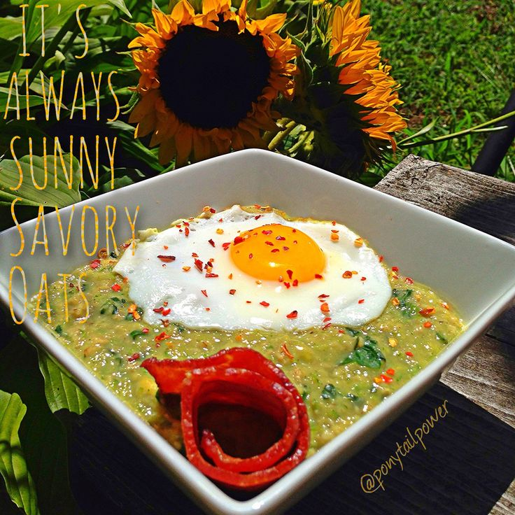 up baby spinach ☀Place a sunny side egg on top ☀Roll up a slice of ...