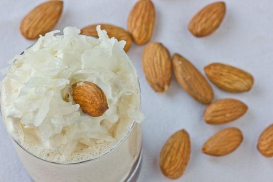 Spiked Almond Joy Milkshakes | Recipe