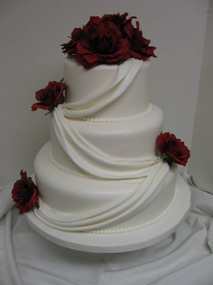 Elegant Wedding Cake Design : Pinterest