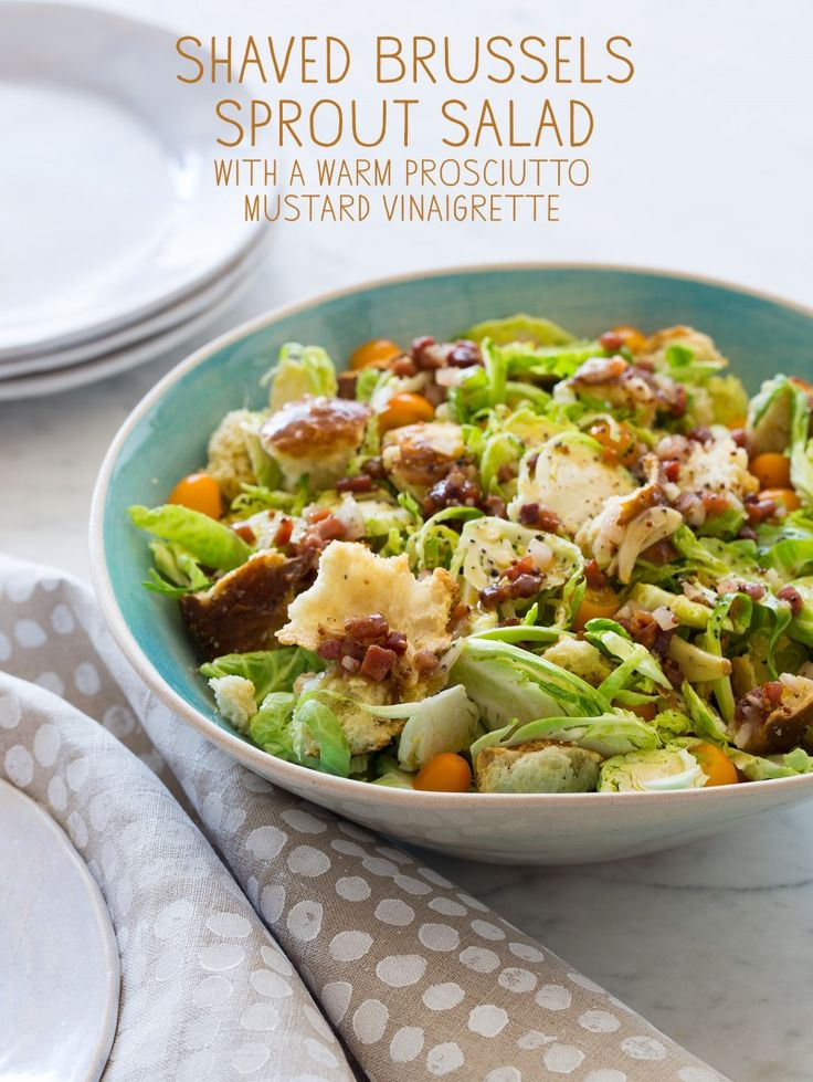 Shaved Brussels Sprout Salad | Recipes | Pinterest