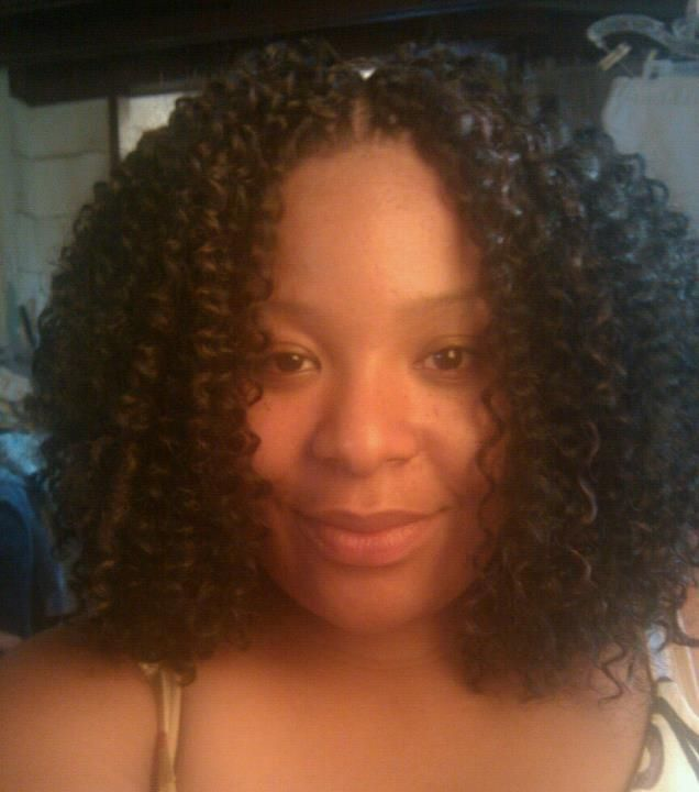 Crochet Hair Middle Part : ... by Starlett Davis- Barnes on Natural Hair/ Crochet Braids Pinte