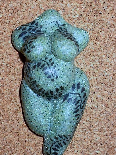 tattooed venus by Marla Frankenberg, via Flickr