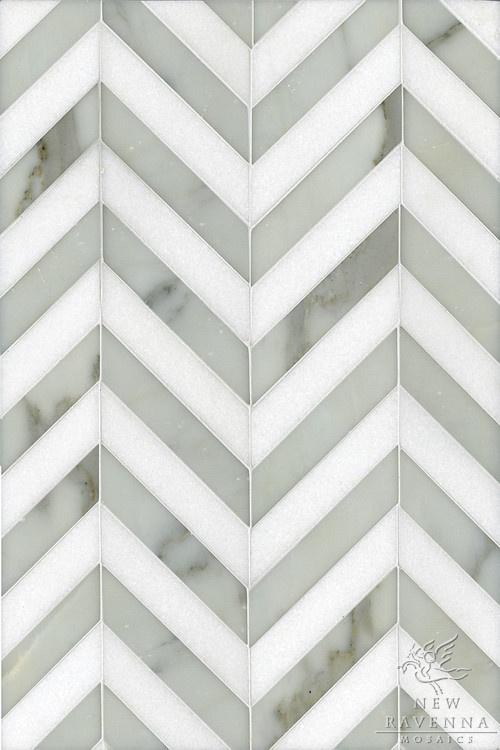 Chevron Design Nice Tile Pinterest