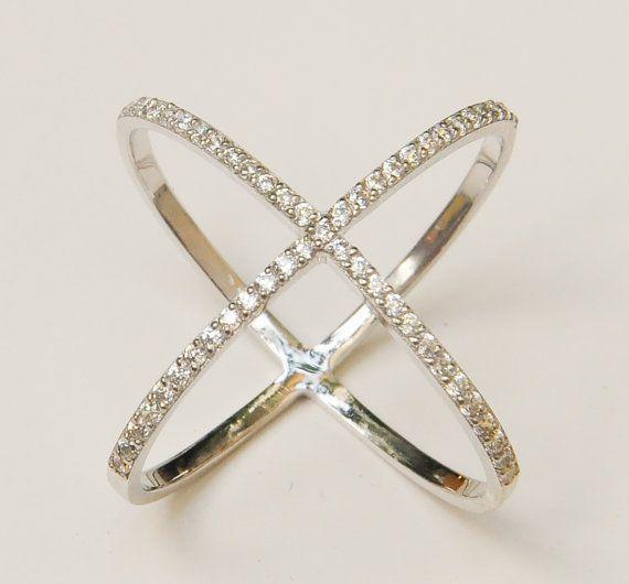 Peridot Cross Ring