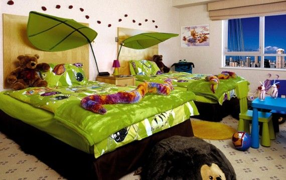 Jungle Theme Kids Bedroom Love It Kids Bed Bath