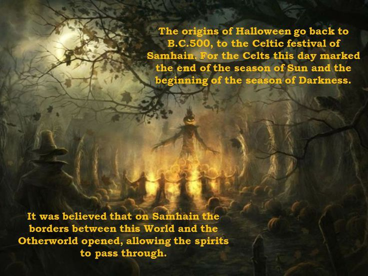 the origin and history of the interesting festival of halloween By travis allen halloween it's a time of year when the air gets crisper, the days get shorter, and for many young americans the excitement grows in anticipation of the darkest, spookiest holiday.