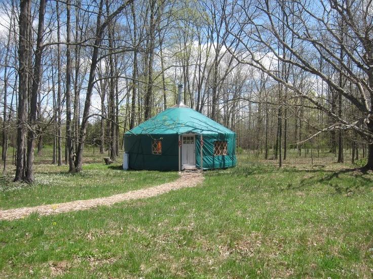 Yurt living in the spring yurt living pinterest